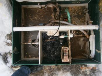 ремонт станции биологической очистки